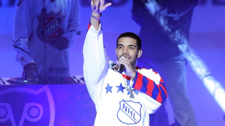 Drake 'Headlines' at NHL All-Star Game