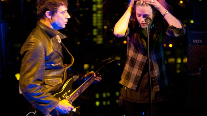 The Kills 'The Last Goodbye' on 'Letterman'