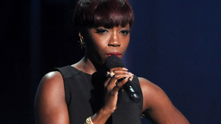 Estelle 'Thank You' on 'Letterman'
