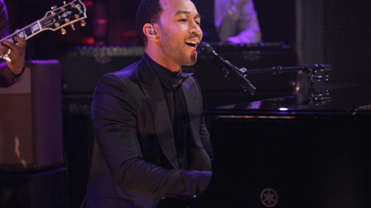 John Legend 'Dancing in the Dark' on 'Fallon'