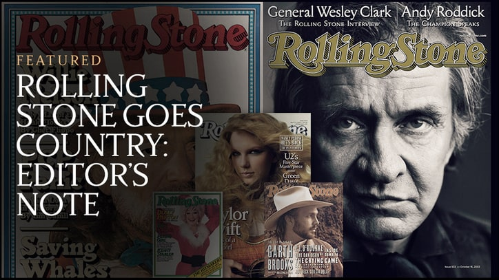 Rolling Stone Goes Country