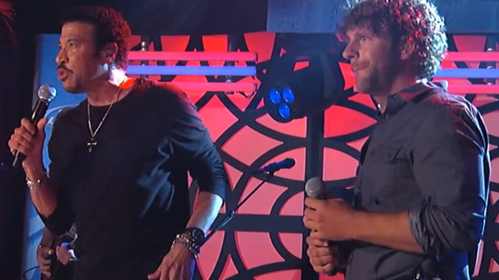 Lionel Richie and Billy Currington 'Just For You' on 'Kimmel'