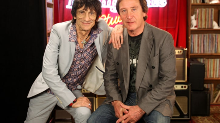 Ronnie Wood and Kenney Jones  The Faces on Hall of Fame Induction
