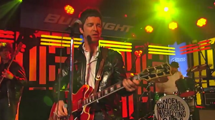 Noel Gallagher's High Flying Birds 'Don't Look Back in Anger' on 'Kimmel'