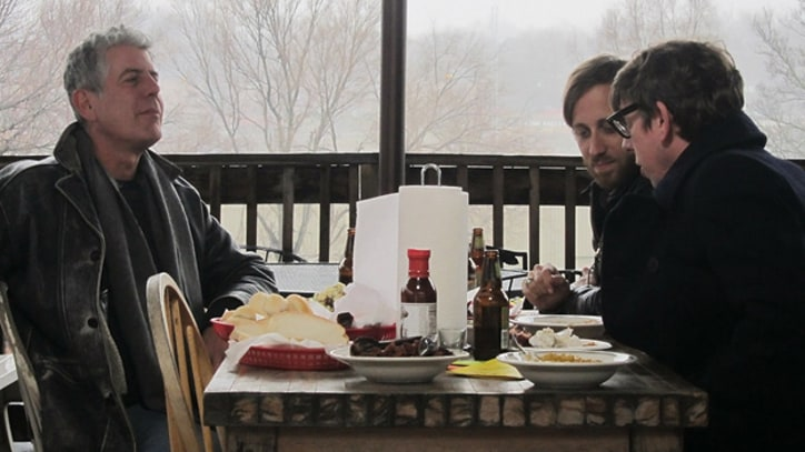 The Black Keys Eat BBQ with Anthony Bourdain