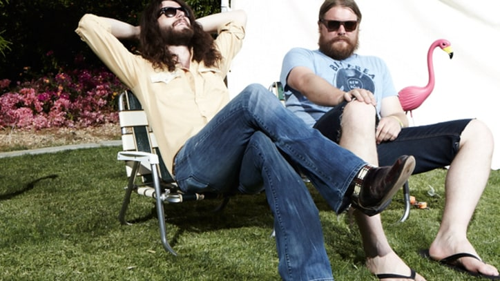 The Sheepdogs Rave about touring with John Fogerty