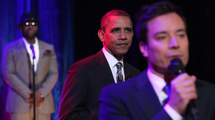 Barack Obama Slow-jams the news with Jimmy Fallon