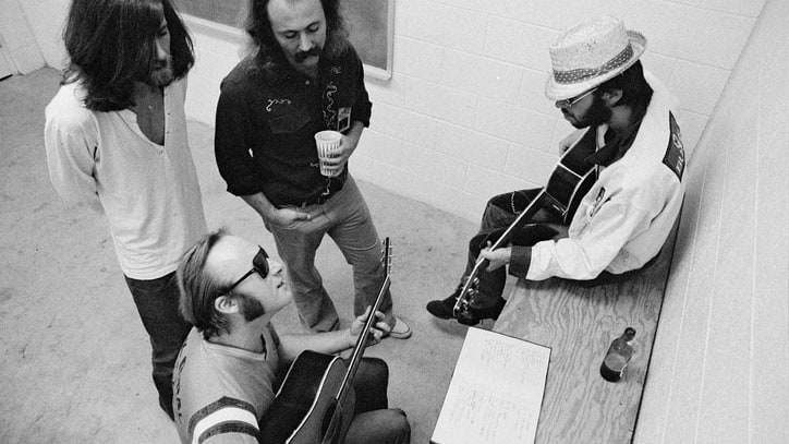 Listen to an Unreleased Track from CSNY's 1974 Live Box Set
