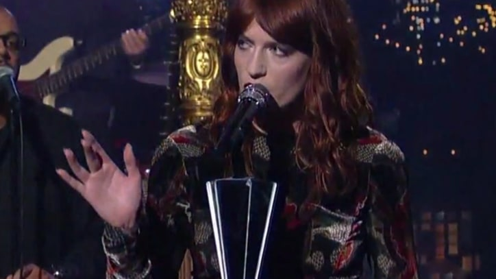 Florence and the Machine Return to 'Letterman'