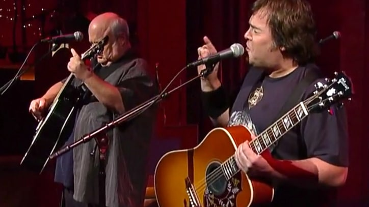 Tenacious D Play 'Roadie' on 'Letterman'