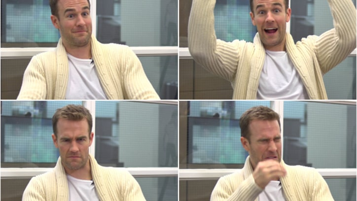 Off the Cuff: James Van Der Beek Reveals New Van Der Memes