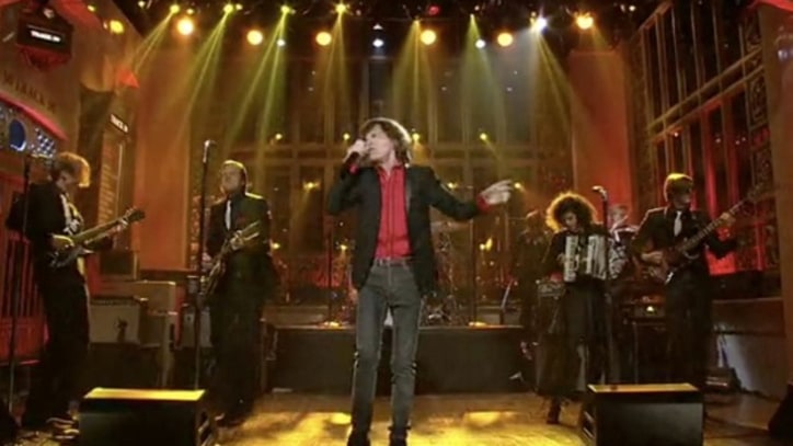 Mick Jagger Performs 'The Last Time' with Arcade Fire on 'SNL'