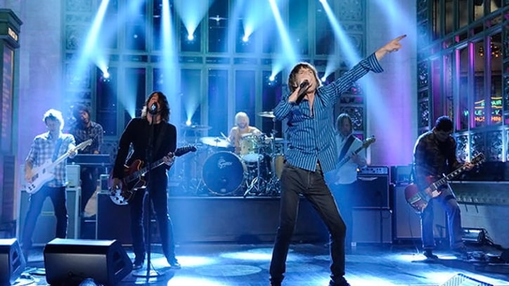 Mick Jagger, Foo Fighters Perform at 'SNL' Cast Party