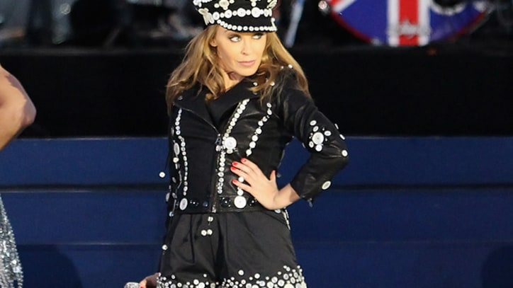 Kylie Minogue Sings Her Hits at the Queen's Diamond Jubilee