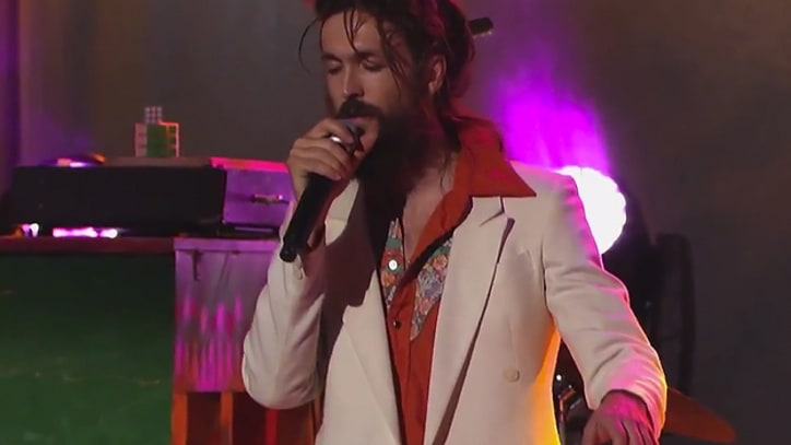 Edward Sharpe and the Magnetic Zeros Play 'Man on Fire' on 'Kimmel'