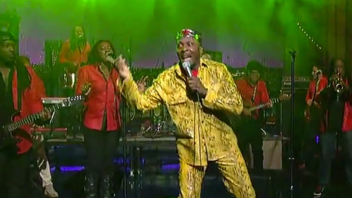 Jimmy Cliff Sings 'One More' on 'Letterman'