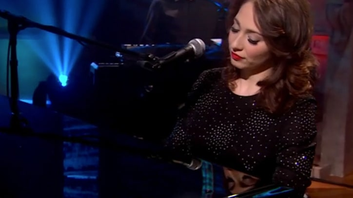 Regina Spektor Sings 'Small Town Moon' on 'Colbert'