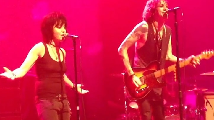 Joan Jett Joins Against Me! Onstage in New York