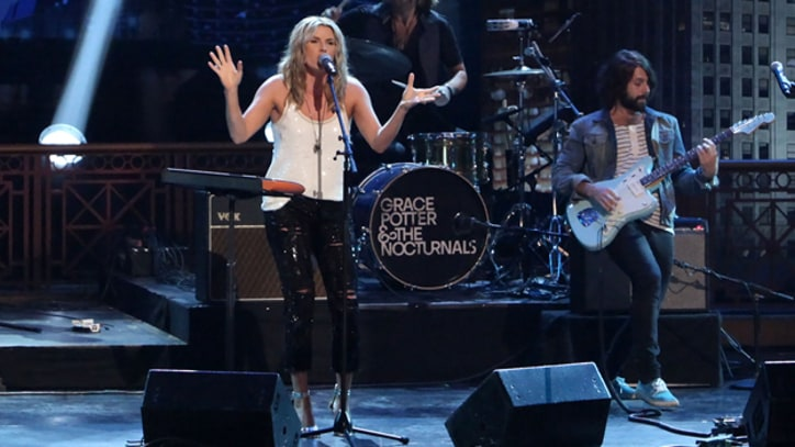 Grace Potter and the Nocturnals Get Groovy on 'Conan'