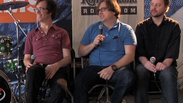 Ben Folds Five Talk About Their New Album at Bonnaroo