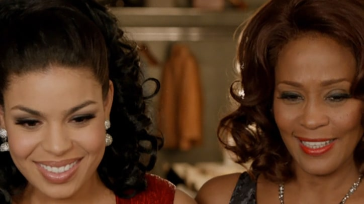 Whitney Houston and Jordin Sparks Shine in 'Celebrate' Clip