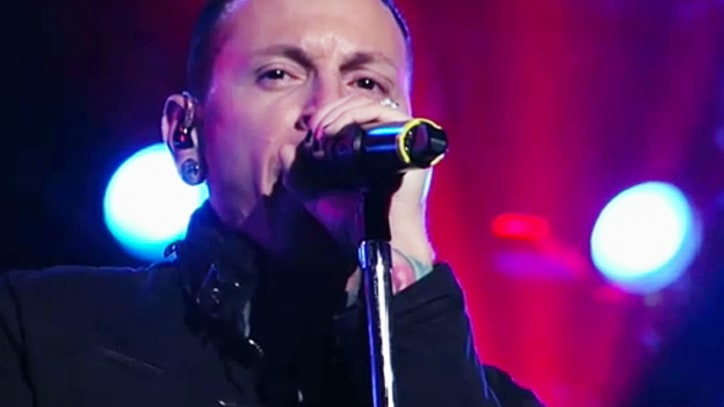 Linkin Park 'Burn It Down' on 'Kimmel'