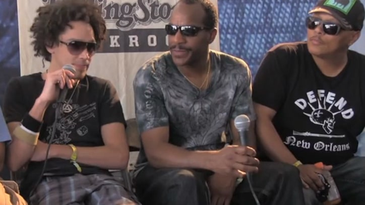 Dumpstaphunk Talk Funk, the Dirtiest Four-Letter Word, at Bonnaroo