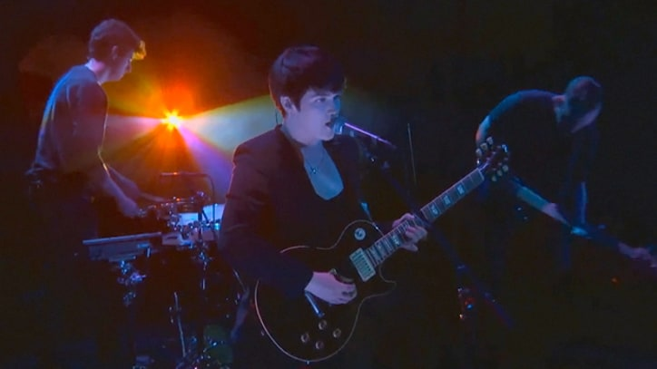 The xx Play 'Angels' on 'Conan'