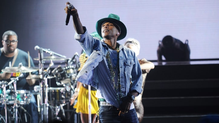 Pharrell Turns the Apollo Into 'American Bandstand'