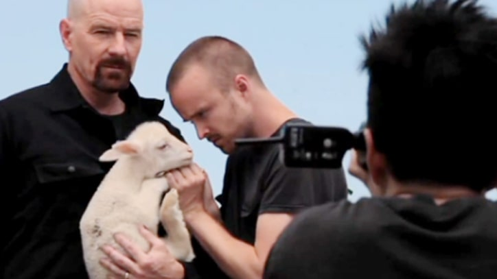 Inside Rolling Stone's 'Breaking Bad' Cover Shoot With Bryan Cranston, Aaron Paul