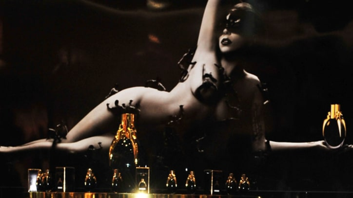 Lady Gaga Shoots Theatrical Video for 'Fame' Perfume