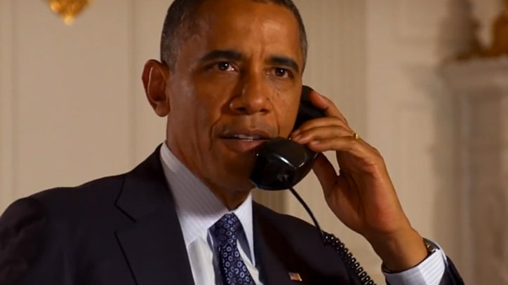 Obama Makes Urgent Phone Call: 'I'm Counting on You'