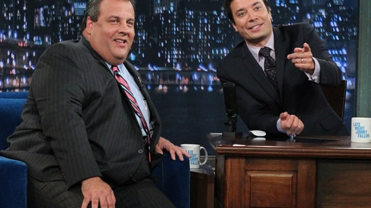 Jimmy Fallon and Chris Christie Duet on 'Thunder Road'