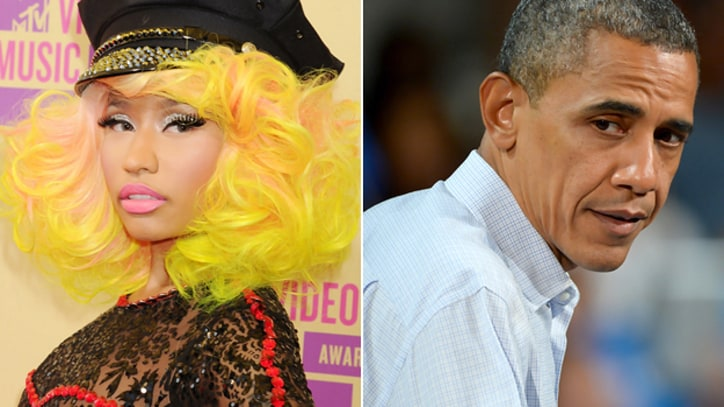 Obama Shrugs Off Nicki Minaj's Romney 'Endorsement' Rap
