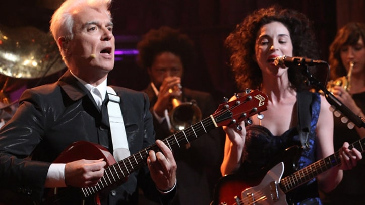 David Byrne, St. Vincent Make TV Debut on 'Fallon'