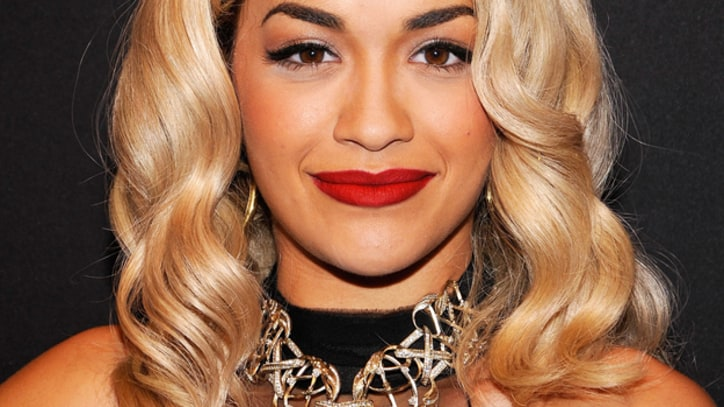 Rita Ora Glows for 'Kimmel' Crowd With 'Shine Ya Light'
