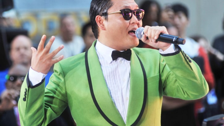 Psy Shows Off 'Gangnam Style' on 'Today'