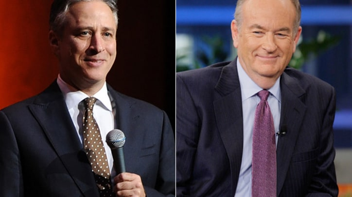 Jon Stewart and Bill O'Reilly to Square Off in Political Debate