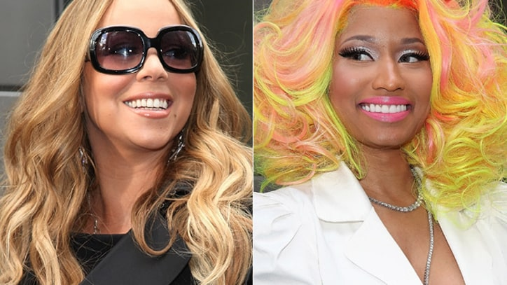 Nicki Minaj and Mariah Carey Deny 'Idol' Feud Rumors