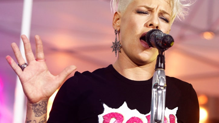 Pink Shows Different Side With 'Who Knew' on 'Daily Show'