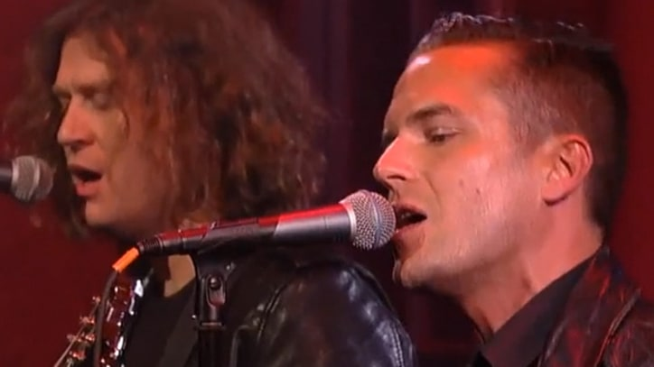 The Killers Light Up 'Letterman' With 'Runaways'