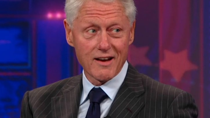 Bill Clinton Breaks Down DNC Speech on 'Daily Show'