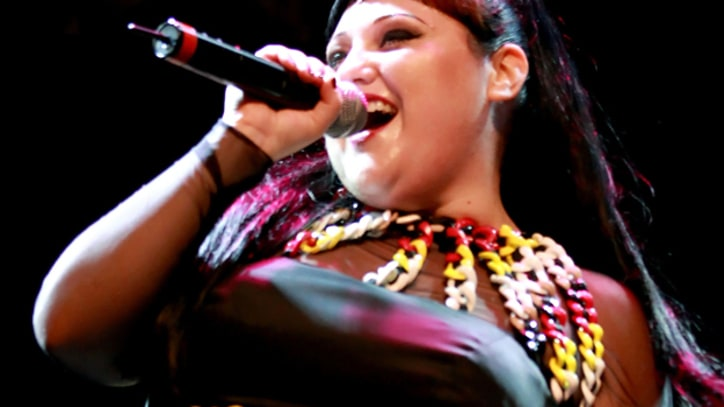 Beth Ditto Serenades the Versus Fashion Show in Milan