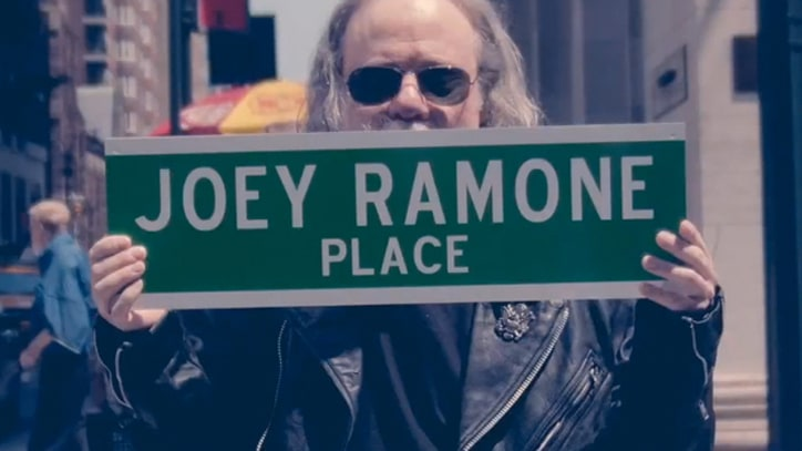 Joey Ramone Lives on in 'New York City'