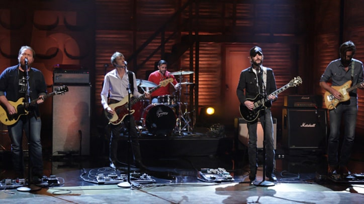 Band of Horses Charge Through 'Knock Knock' on 'Conan'