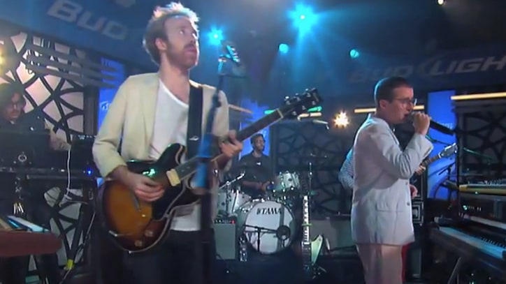 Hot Chip Breeze Through 'How Do You Do?' on 'Kimmel'