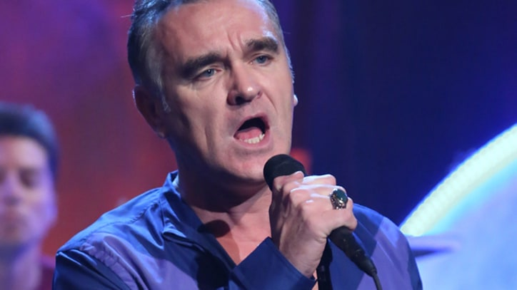 Morrissey Glides Through Frankie Valli Cover on 'Fallon'