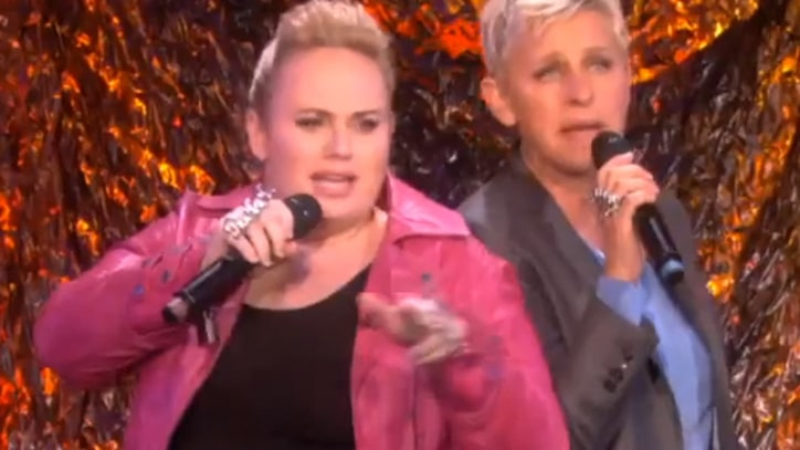 Rebel Wilson Teams With Ellen DeGeneres for Impeccable Cover of 'Shoop'