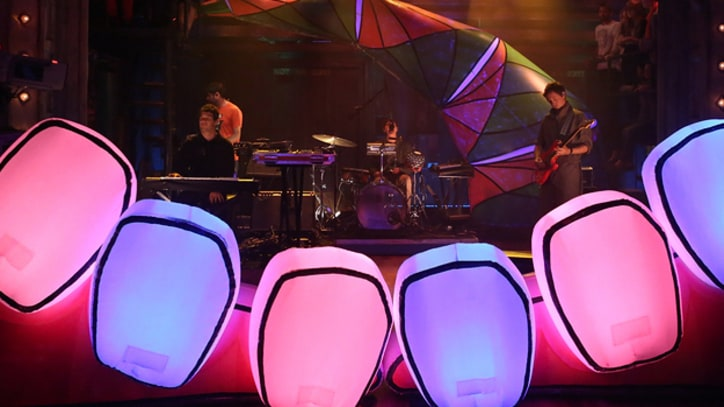 Animal Collective Bounce Through 'Rosie Oh' on 'Fallon'