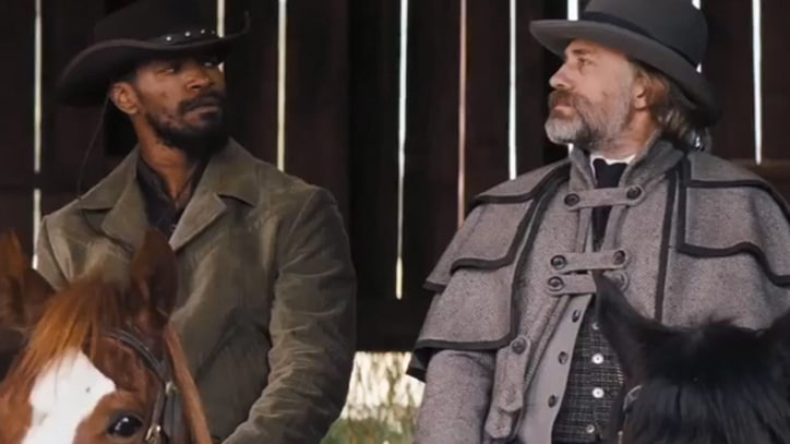 Jamie Foxx Goes Gun Slinging in New 'Django Unchained' Trailer